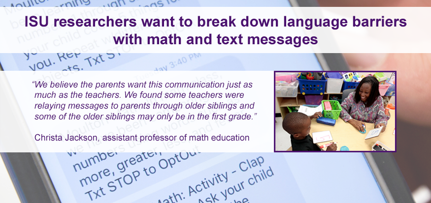Using Text Messages to Help ELL Parents